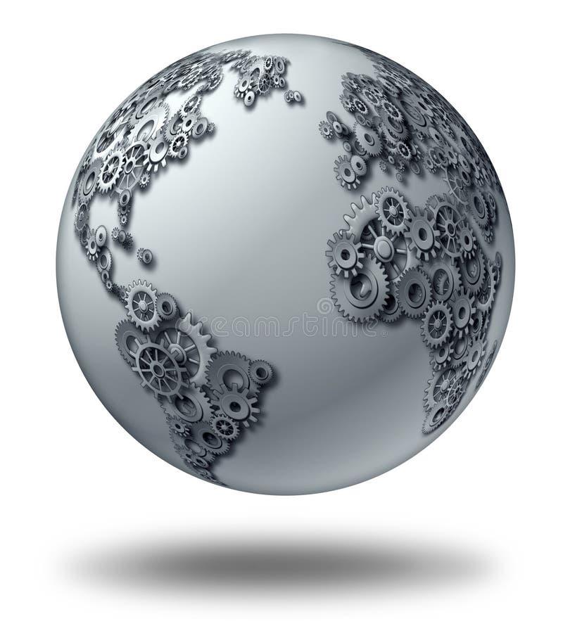 Globale Zaken stock illustratie