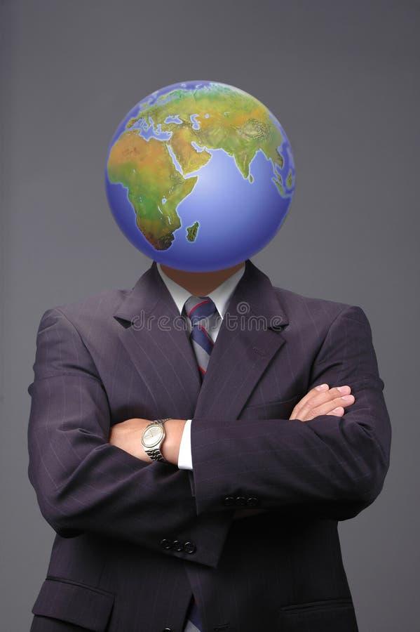 Globale zaken metaphore royalty-vrije stock fotografie