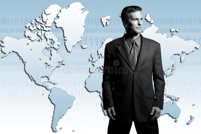 Globale zakenman stock afbeelding