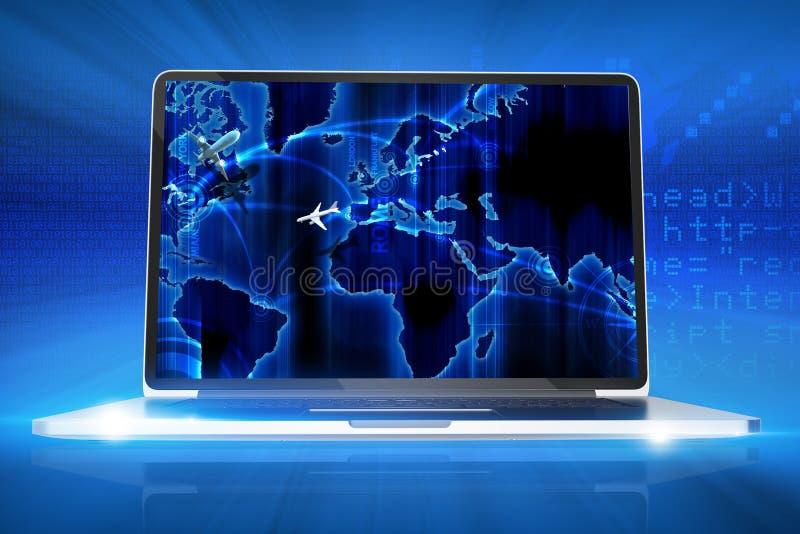 Globaler Internetanschluss vektor abbildung