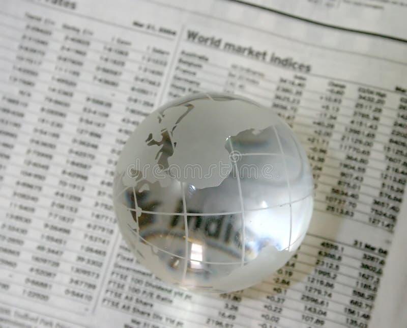 Globaler Investor lizenzfreies stockbild