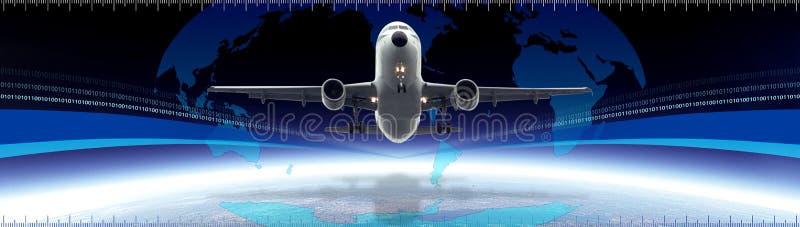 Globaler Transportvorsatz vektor abbildung
