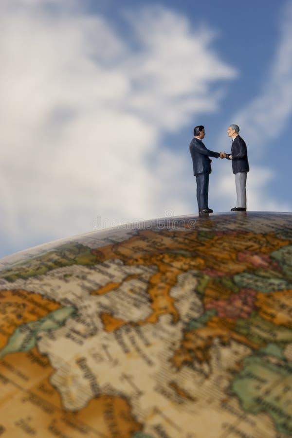 Globales Geschäft lizenzfreies stockbild