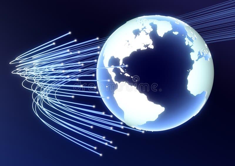 Globales Geschäfts-Serie vektor abbildung