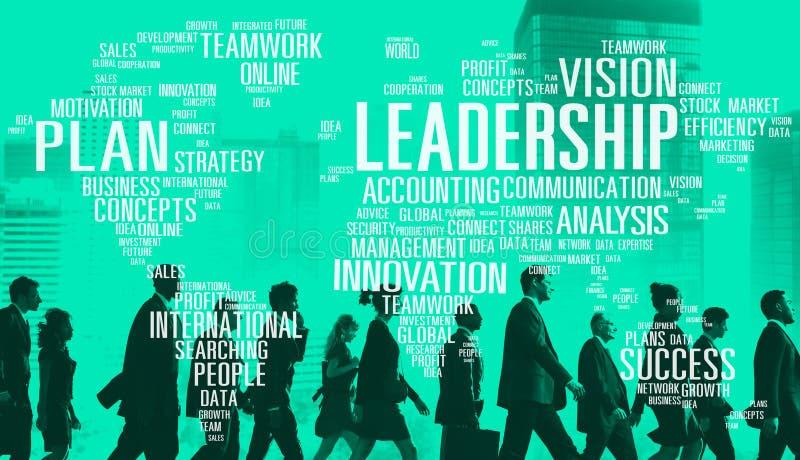 Globales Konzept Führungs-Chef-Management Coach Chiefs lizenzfreie stockfotografie