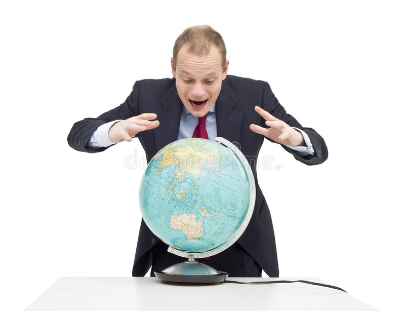 Globales Vermögen lizenzfreies stockbild
