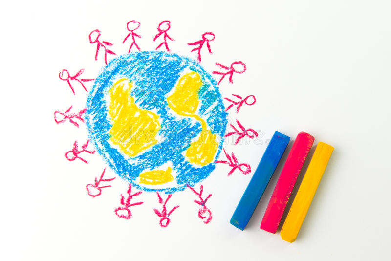 globalisering stock afbeelding