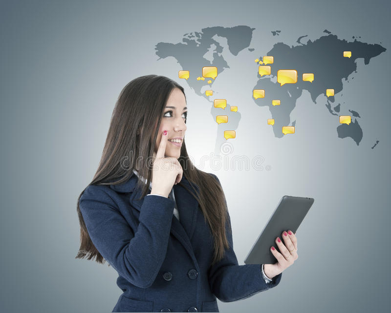 globalisering royalty-vrije stock foto