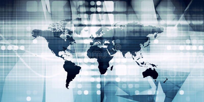 globalisering vector illustratie