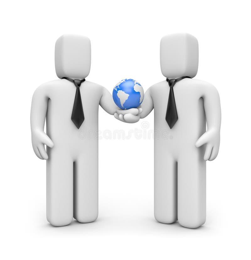 Globalisierung vektor abbildung