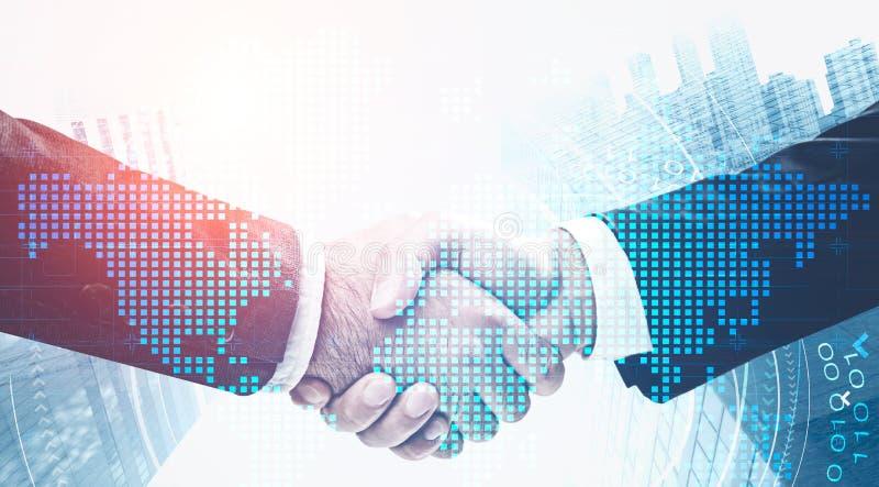 Globalisierung und internationales Partnerschaftskonzept lizenzfreie stockfotos