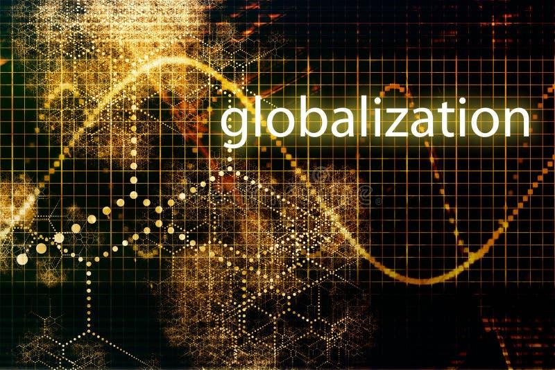 Globalización stock de ilustración