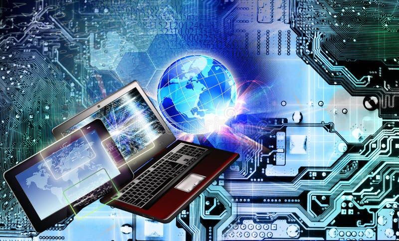 Globalizacja informatyka Komunikacja obrazy royalty free