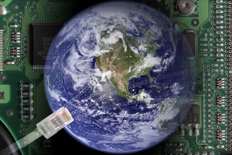 Globalization royalty free stock photos