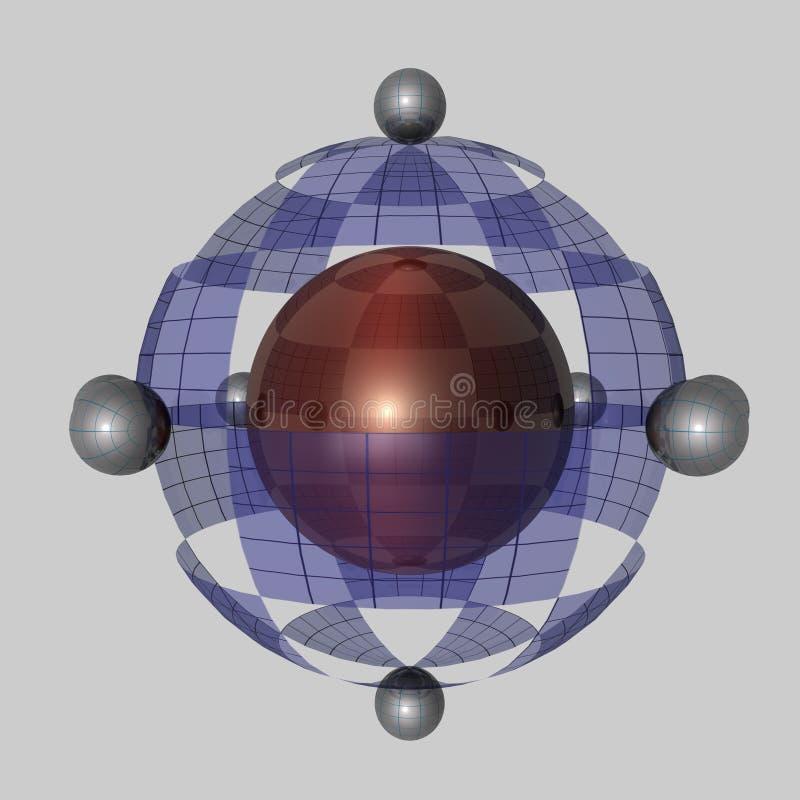 Download Globalization - 3D stock illustration. Image of circle - 12234604