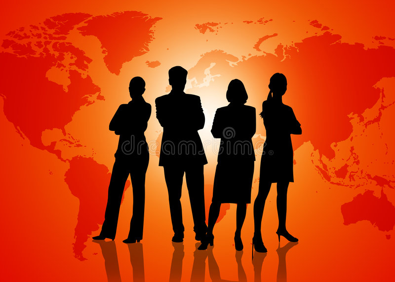 Download Globalization Business stock illustration. Image of cooperation - 7312061