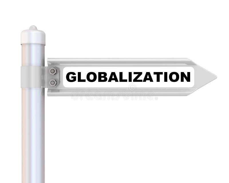 globalization Marca da maneira ilustração stock
