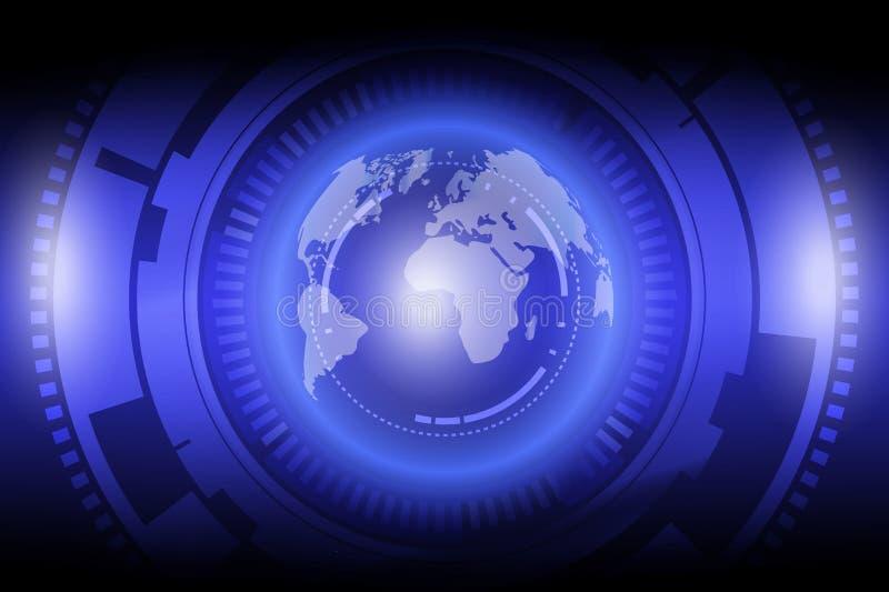Globalization technology . stock illustration