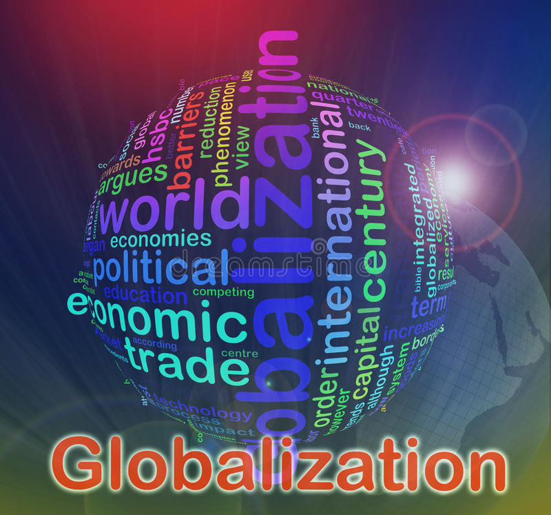 Download Globalization Wordcloud Royalty Free Stock Images - Image: 19880399