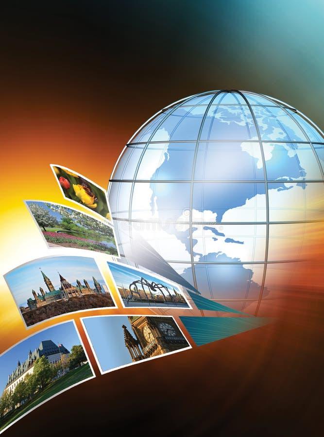 Globalna podróż zdjęcia stock