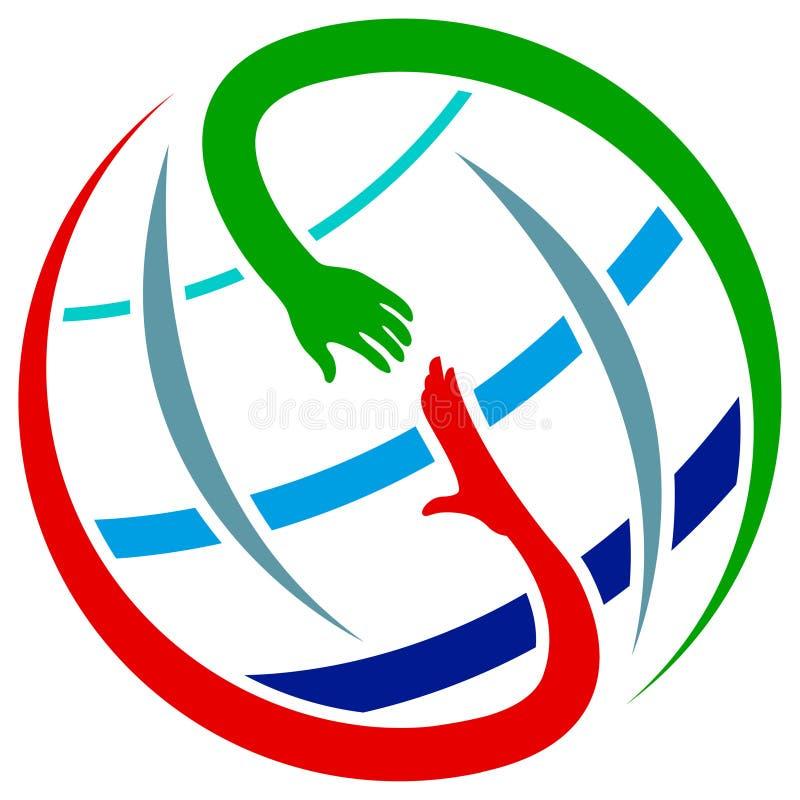 globalna pomoc ilustracji