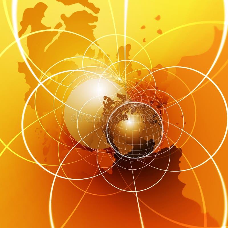 globalna sieć ilustracji
