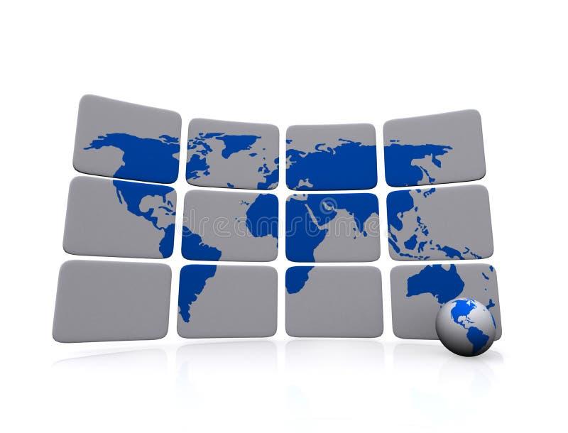 Globalne Komunikacje ilustracji