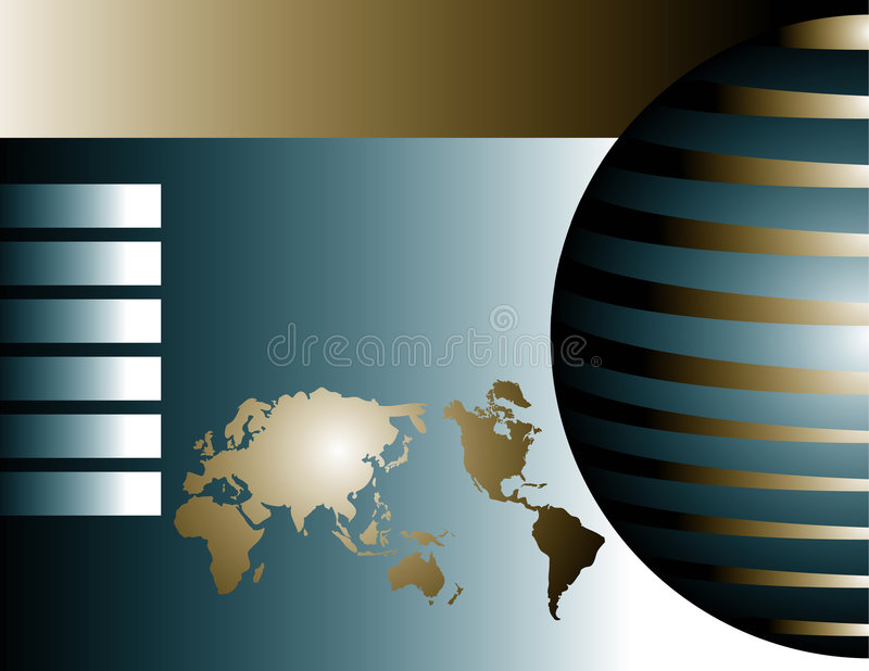globalne tło royalty ilustracja