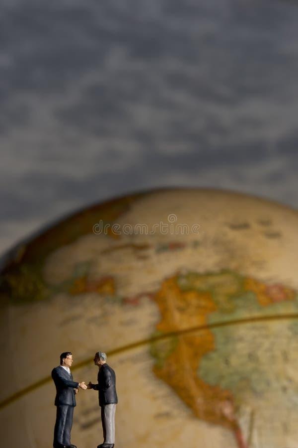 globalne uścisk dłoni zdjęcia stock