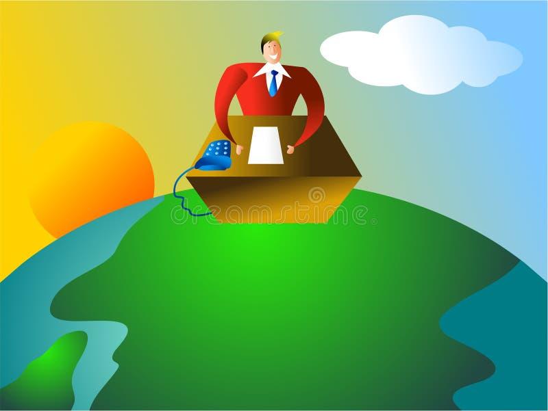 globalnego biura royalty ilustracja