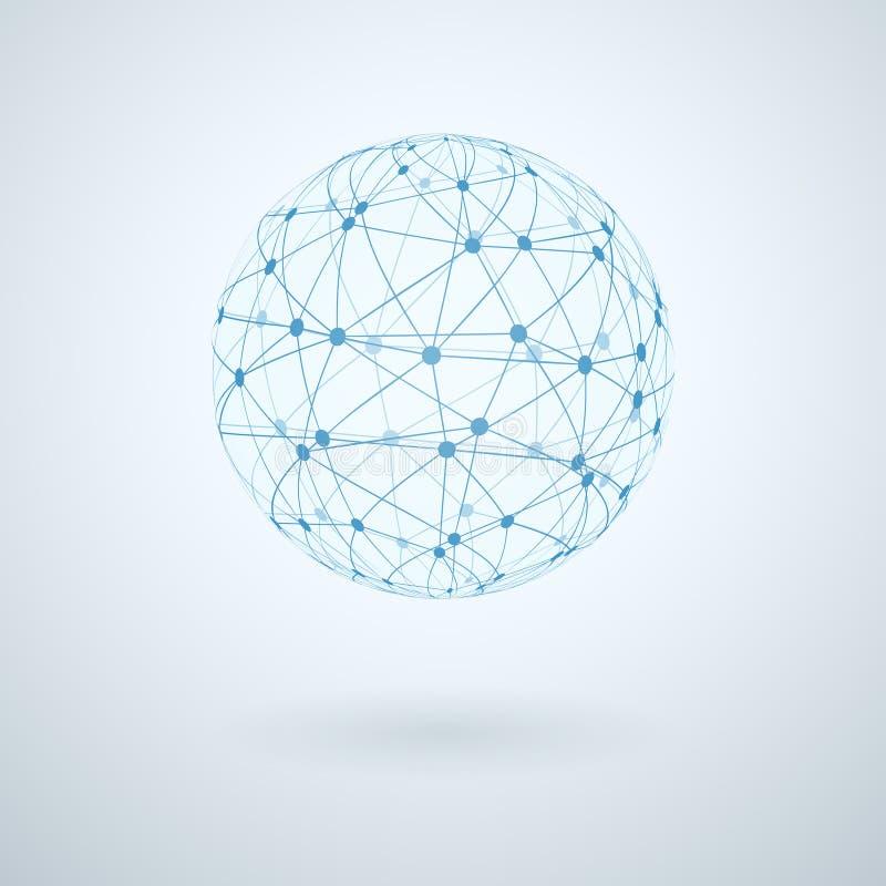 Globalnej sieci ikona ilustracja wektor