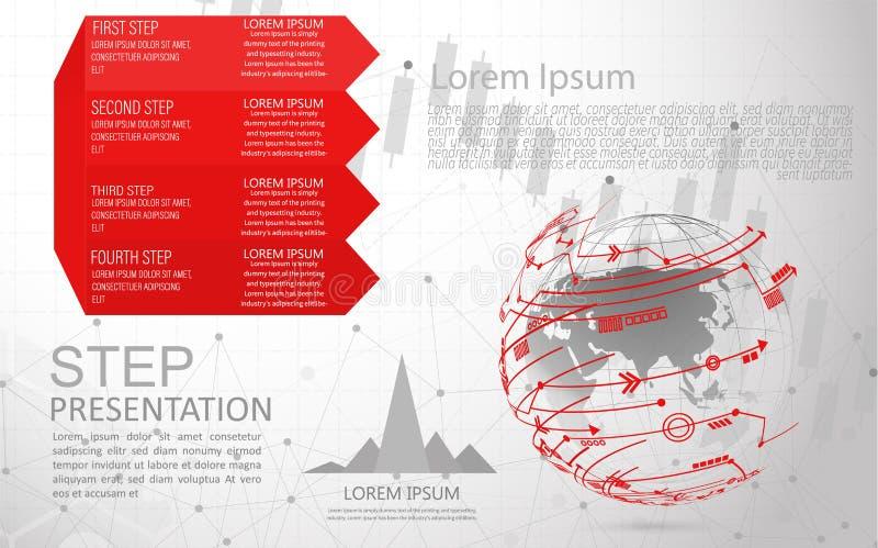 Globalnej sieci zwi?zek ?wiatowej mapy punktu internet rzeczy, Oblicza projekt technologii t?o royalty ilustracja