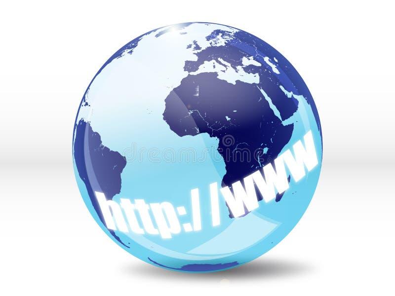 globalni internety ilustracji