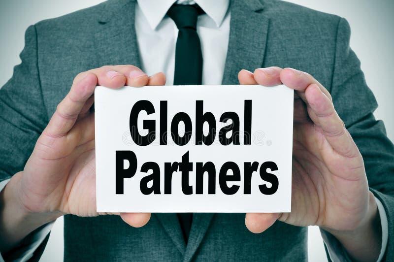 Globalni partnery zdjęcia stock