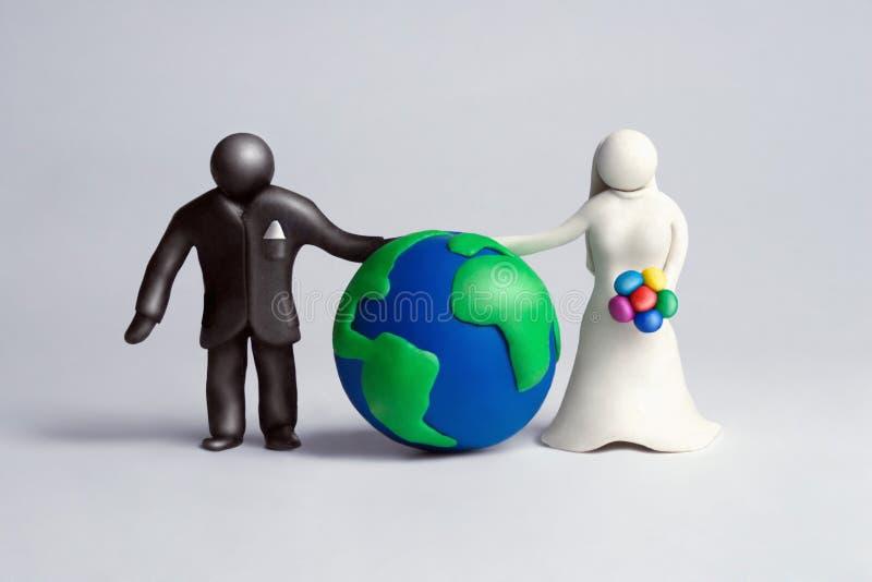 globalnie 2 twoje zdjęcie stock