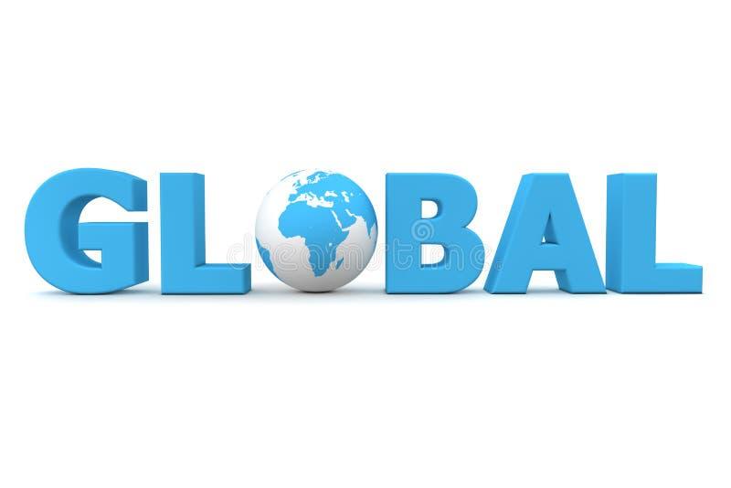 globalny świat ilustracji
