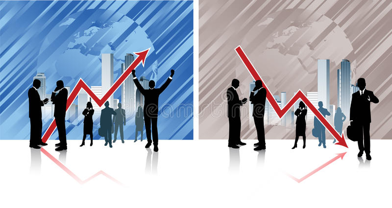 Globalny biznes. ilustracji