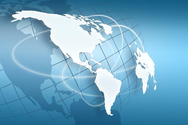 Globalny biznes najlepszy pojęcie ilustracja wektor