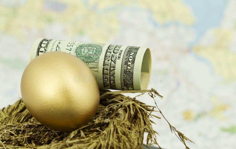 globalny inwestorski pomyślny obraz stock