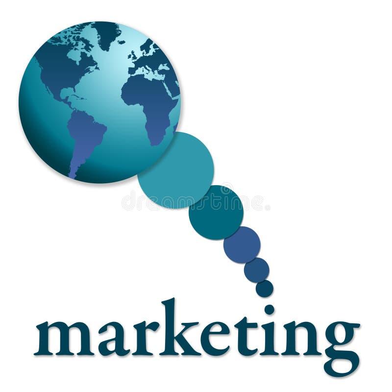 globalny marketing ilustracja wektor