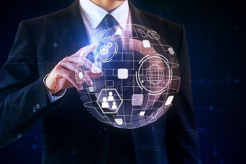 Globalny międzynarodowy biznesowy pojęcie zdjęcia royalty free