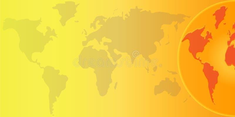 Download Globalny nagrzanie ilustracji. Obraz złożonej z zniszczony - 9730265