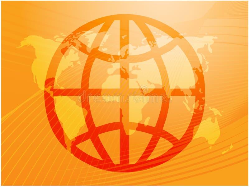 globalny symbol royalty ilustracja