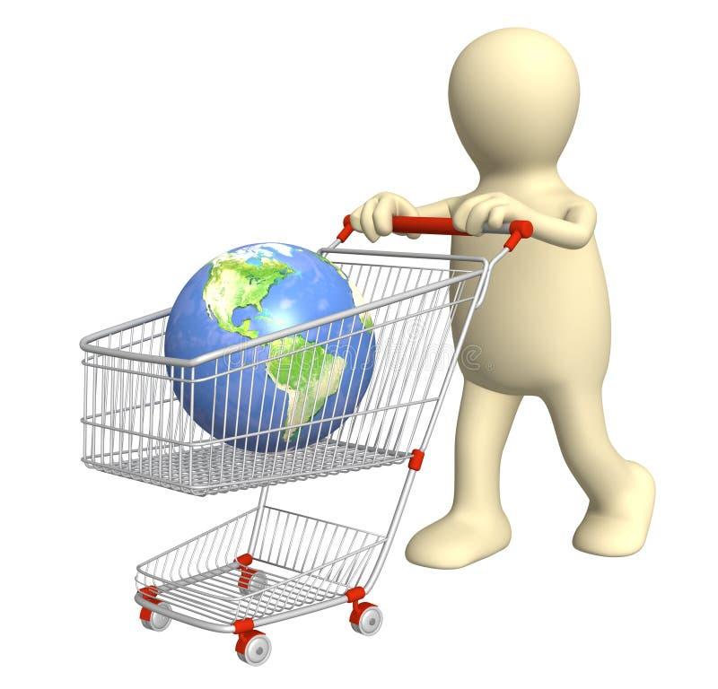 Download Globalny zakupy obraz stock. Obraz złożonej z internety - 13331279