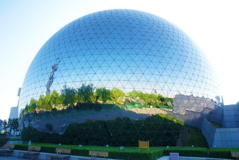 globalt byggnadsexponeringsglas arkivbilder