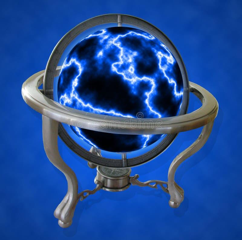 Globe électrique illustration stock