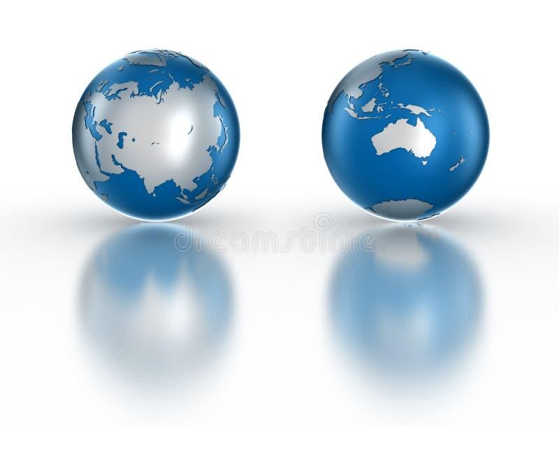 Download Globe stock illustration. Illustration of ball, clear - 10413897