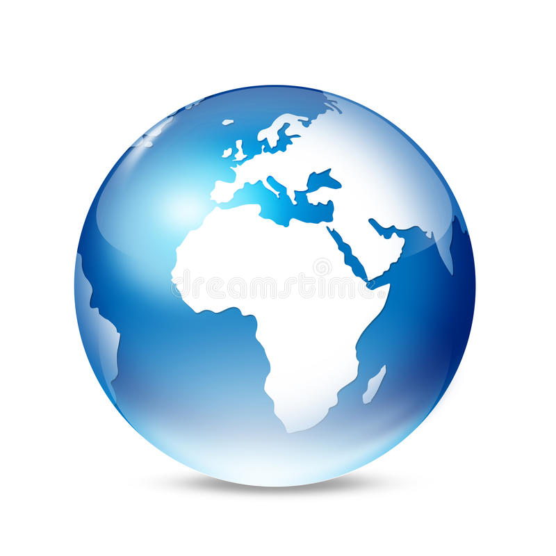 Download Globe stock illustration. Image of blue, worldwide, countries - 11565180