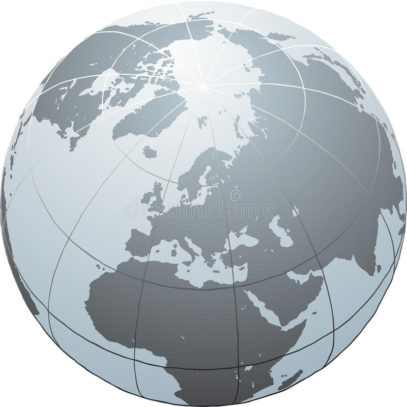 Globe vector illustration