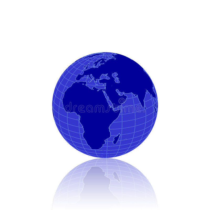 Download Globe stock illustration. Illustration of reflection, globes - 167257
